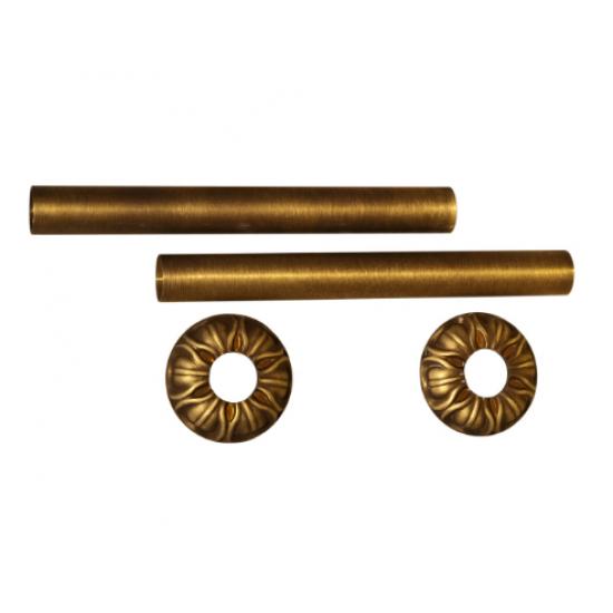 Комплект декоративных трубок и розеток D25мм RETROstyle
